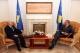Predsednik Pacolli je dočekao rukovodioce Centralne Banke Kosova